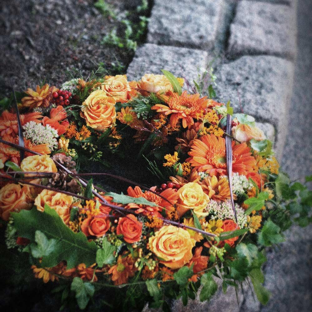 butik botanik – begravningskrans